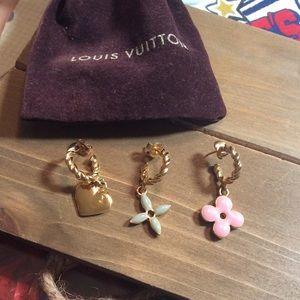 💯 percent authentic Louis Vuitton earrings